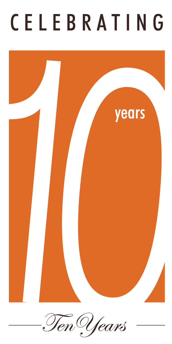 Policy Bridge 10 years logo_red